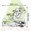 Торцювальна пила BOSCH GCM 10 S (0601B20508)