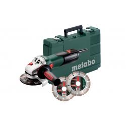 Болгарка (УШМ) METABO W 9-125 Quick + кейс + 2хPromo (600374510)