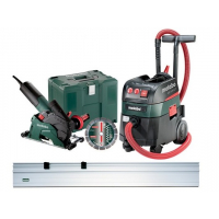 Болгарка (КШМ) METABO W 12-125 HD Set CED 125 Plus (690887000)