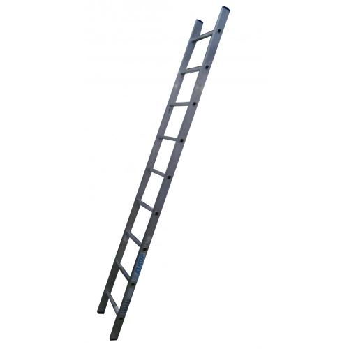 Лестница приставная ELKOP VHR Hobby 1x9 алюминиевая, 2427 мм (VHRH1*9)