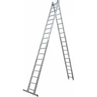 Драбина ELKOP VHR Profi 2x18 алюмінієва, 2 секції, 18-східчаста (VHRР2*18)
