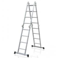 Лестница-трансформер ELKOP M 4x4 AL алюминиевая, 4.2 м (M4*4AI)