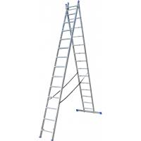 Драбина ELKOP VHR Hobby 2x14 алюмінієва, 2 секції, 14-східчаста (VHRH2*14)