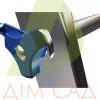 Драбина ELKOP VHR Profi 3x17 алюмінієва, 3 секції, 17-східчаста (VHRРК3*17)