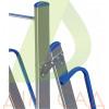 Драбина-підмостя ELKOP TOR 707 алюмінієва, 7 сход., 2681 мм
