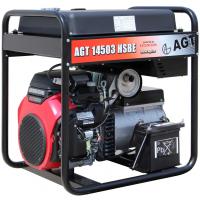 Генератор бензиновий AGT 14503 HSBER45