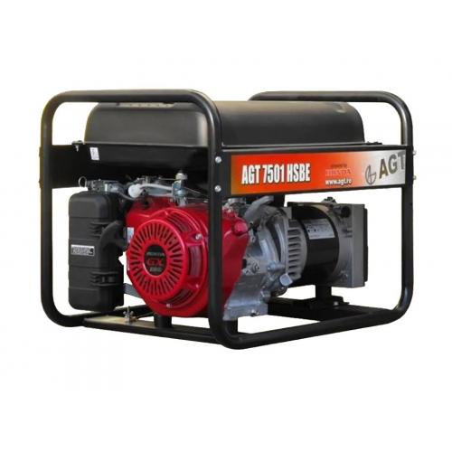 Генератор бензиновий AGT 7501 HSBER26