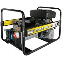 Генератор бензиновий AGT WAGT220/5DCBSBE (з зварювальним модулем)