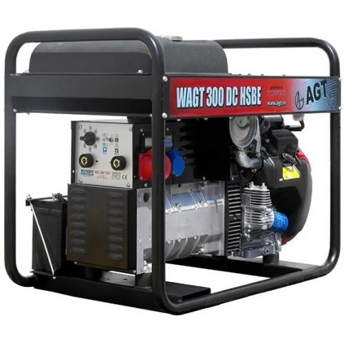 Генератор бензиновий AGT WAGT300DCHSBER16 (з зварювальним модулем)