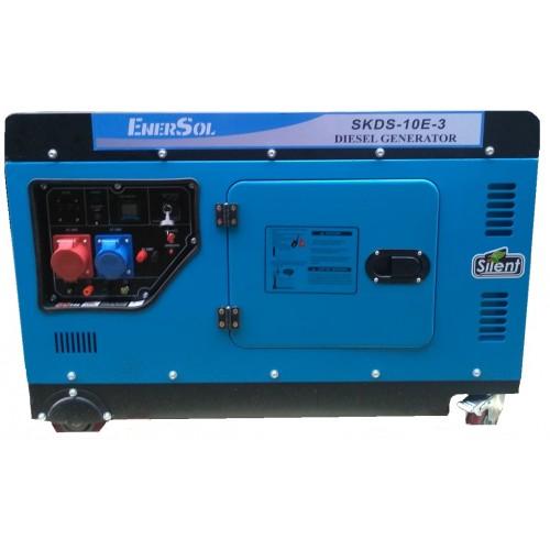 Генератор дизельний EnerSol SKDS-10EB-3