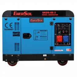 Генератор дизельний EnerSol SKDS-8E-3B