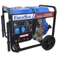 Генератор дизельний EnerSol SWD-7EB (із зварювальним модулем)