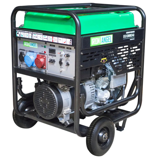 Генератор бензиновий IRON ANGEL EG12000EA0 (з блоком автоматики)
