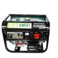 Генератор бензиновий IRON ANGEL EG 5500E3