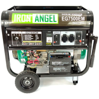 Генератор бензиновий Iron Angel EG 7500 EМ