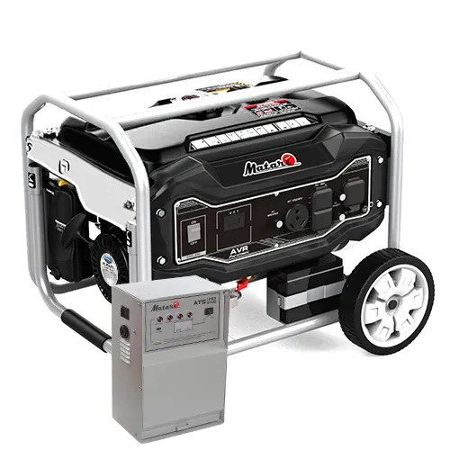 Генератор бензиновий MATARI MX11000EA-ATS (з блоком автоматики)