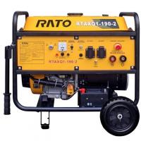 Генератор бензиновий RATO RTAXQ1-190-2 (з зварювальним модулем)