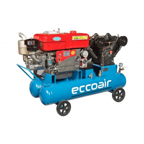 Поршневой компрессор DALGAKIRAN Ecco D-1.05/1.0 с дизельным приводом