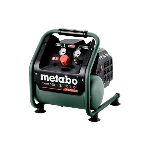 Акумуляторний безмасляний компресор METABO Power 160-5 18 LTX BL OF - (601521850)