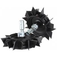 """Металеві колеса (грунтозачепи) TEXAS 12""""/30 см (91060700100)"""