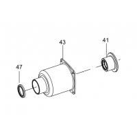 Корпус ударного механизма в сборе KING TONY (33832-CTK5) для 33832-180