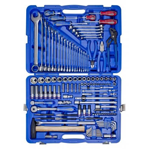 """Набір інструментів універсальний KING TONY 7528MR, 128 од. 1/4""""""""+1/2"""""""""""