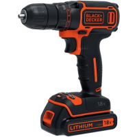 Шуруповерт BLACK + DECKER BDCDC18KB