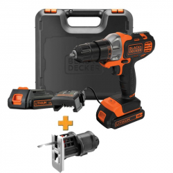 Шуруповерт BLACK + DECKER MT218K + MTJS1