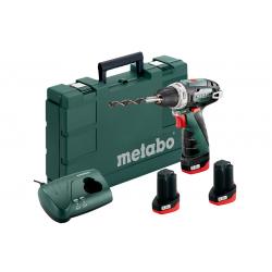 Шуруповерт METABO PowerMaxx BS Basic Set (600080960)