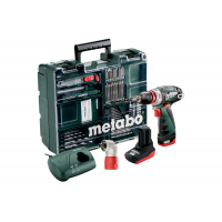 Шуруповерт METABO PowerMaxx BS Quick Pro Mobile Workshop (600157880)