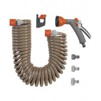 Шланг спіральний GARDENA 10 м з комплектом (04646-20.000.00)