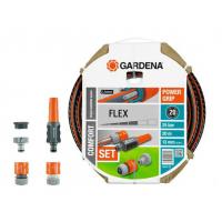 """Шланг GARDENA Flex (1/2"""") 20 м с коннекторами (18034-20.000.00)"""