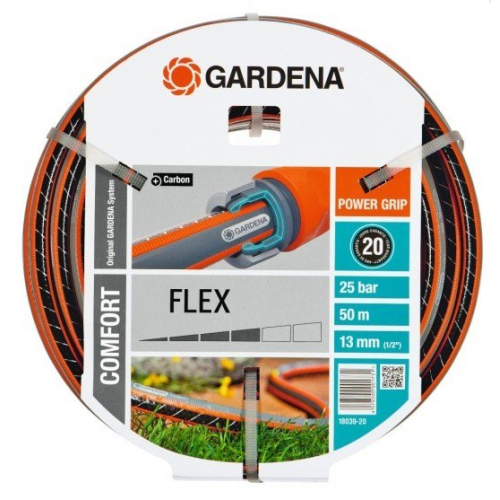 "Шланг GARDENA FLEX 1/2"", 50 м (18039-20.000.00)"